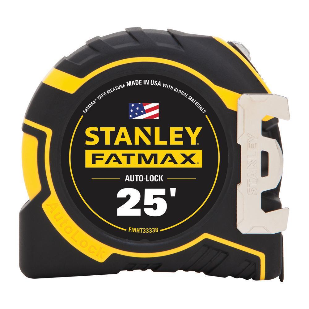FATMAX 25 ft. x 1-1/4 in. Auto Lock Tape Measure