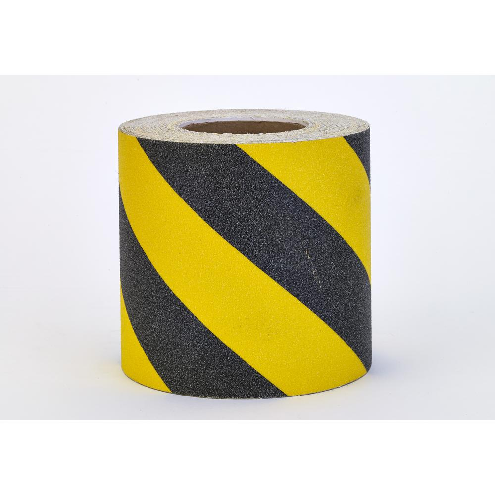 Mutual Industries 6 In X 60 Ft Non Skid Hazard Stripe