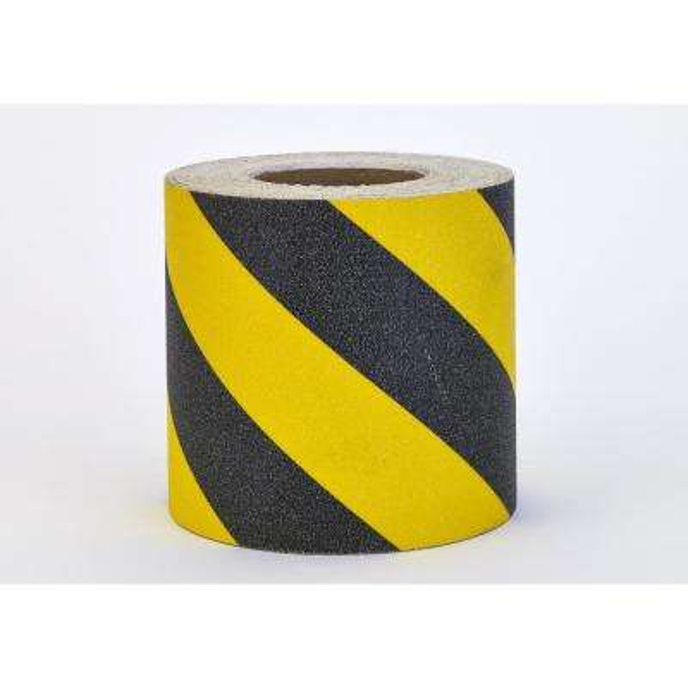 6 in. x 60 ft. Non-Skid Hazard Stripe Grip Tape