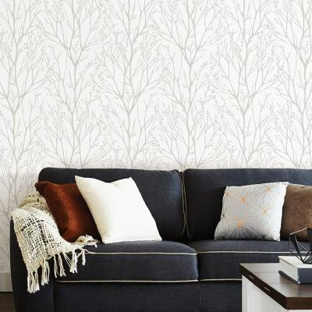 30.75 sq. ft. Treetops Peel and Stick Wallpaper