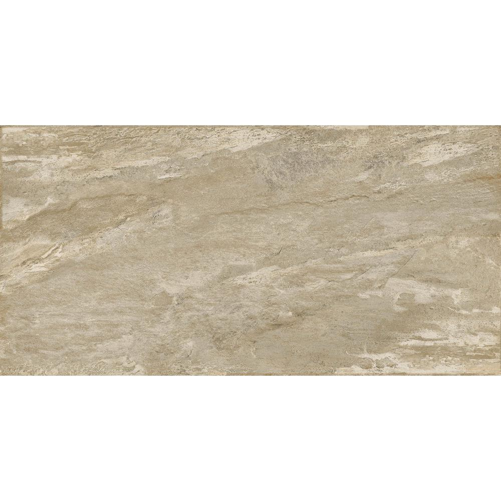 Emser Milestone Taupe Matte 23 62 In X 47 24 Porcelain Floor And Wall Tile