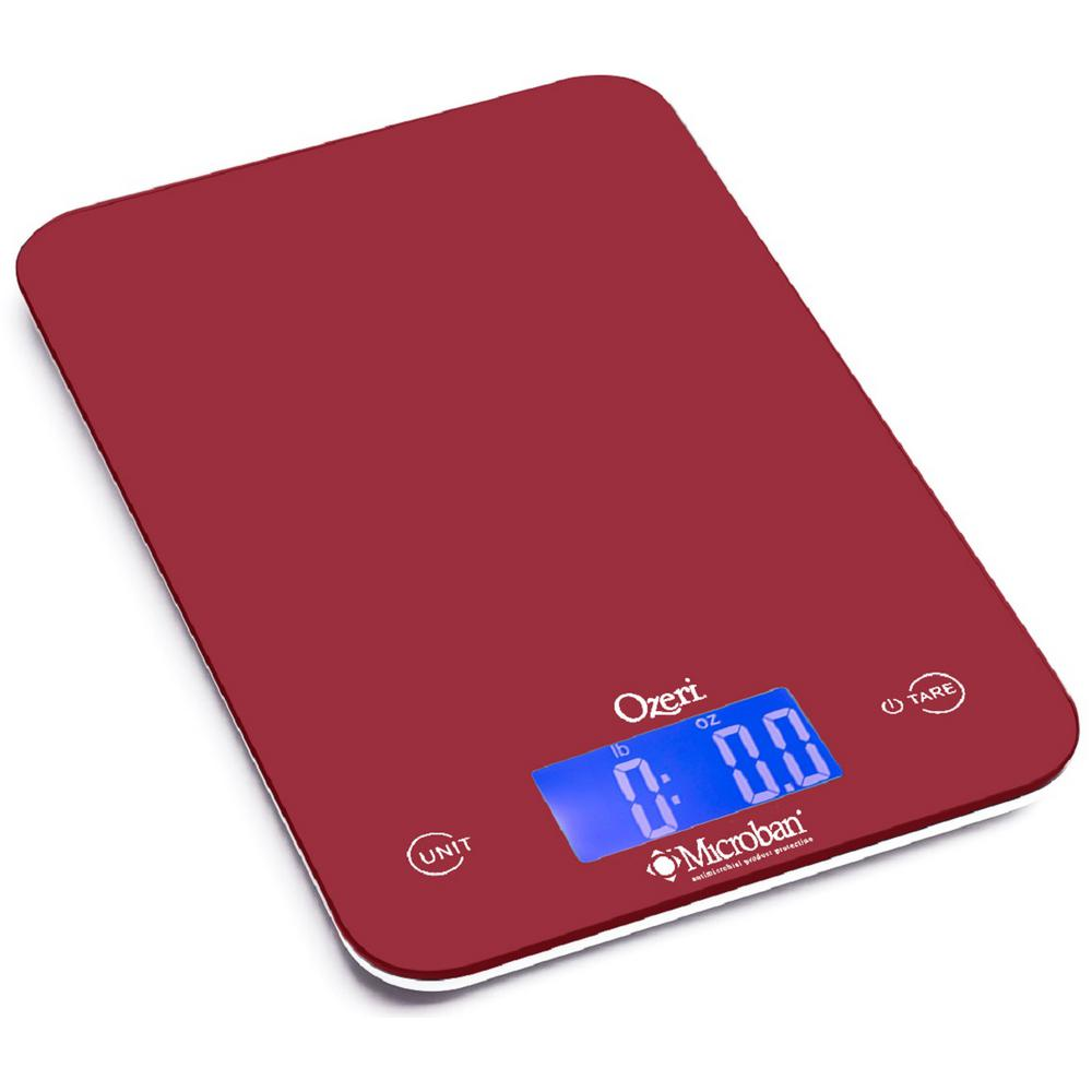 Ozeri Touch Ii 18 Lbs Digital Kitchen Scale With