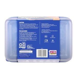 Ziploc 225 Qt Large Rectangle Storage Container 70941 The Home Depot