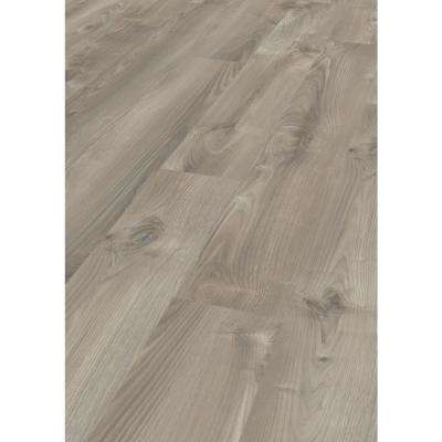 Take Home Sample -Valney Walnut Laminate Flooring - 5 in. x 7 in.