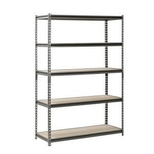 Deals on Muscle Rack 5-Shelf Z-Beam Boltless Steel Shelving Unit