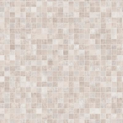 Mosaic Tiles Neutral Peel and Stick Wallpaper 56 sq. ft.