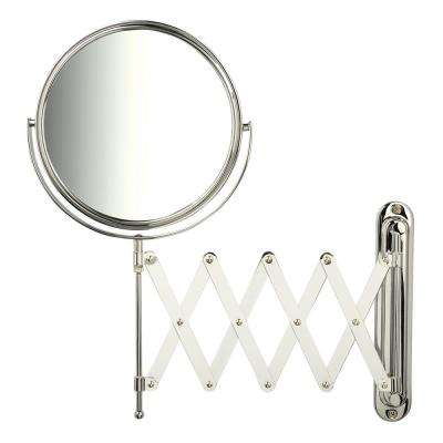 9 in. x 15.75 in. Single Wall Makeup Mirror