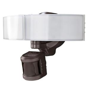 270 Degree Bronze LED Bluetooth Motion Outdoor Security Light by