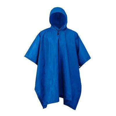 XT Series Navy Blue Youth Rain Poncho