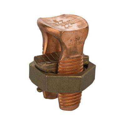 250 MCM Copper Split Bolt- 1 Count