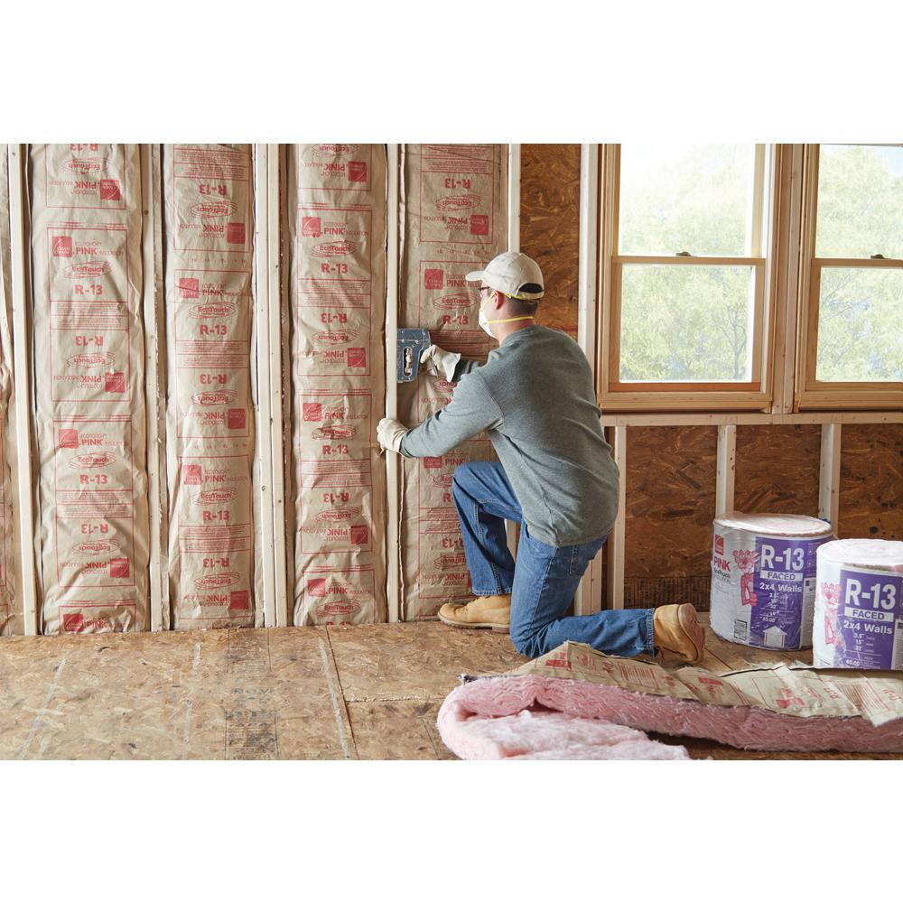 Owens Corning R 13 Pink Ecotouch Kraft Faced Fibergl Insulation