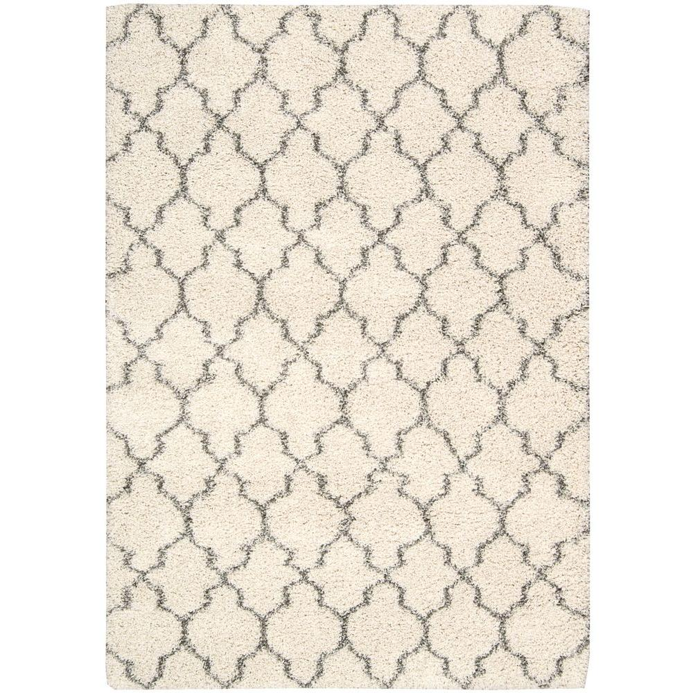 Nourison Amore Cream 5 ft. 3 in. x 7 ft. 5 in. Area Rug