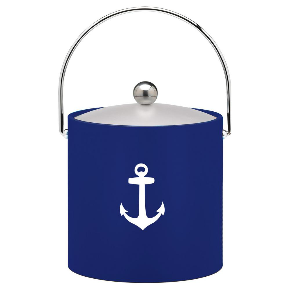 Kasualware Anchor 3 Qt. Ice Bucket in Blue