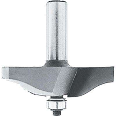 1-7/16 in. Carbide-Tipped 2-Flute Router Bit Raised Panel with 1/2 in. Shank