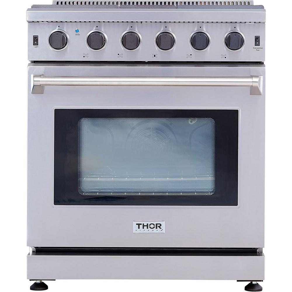 4 55 Cu Ft Professional Gas Range