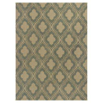 Palace Row Sage/Beige 7 Ft. X 10 Ft. Area Rug