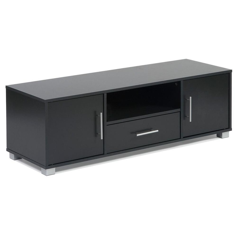 Soo Entertainment Cabinet Black