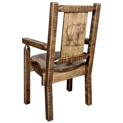 Brown - Rustic - Dining Chairs - Kitchen & Dining Room ...