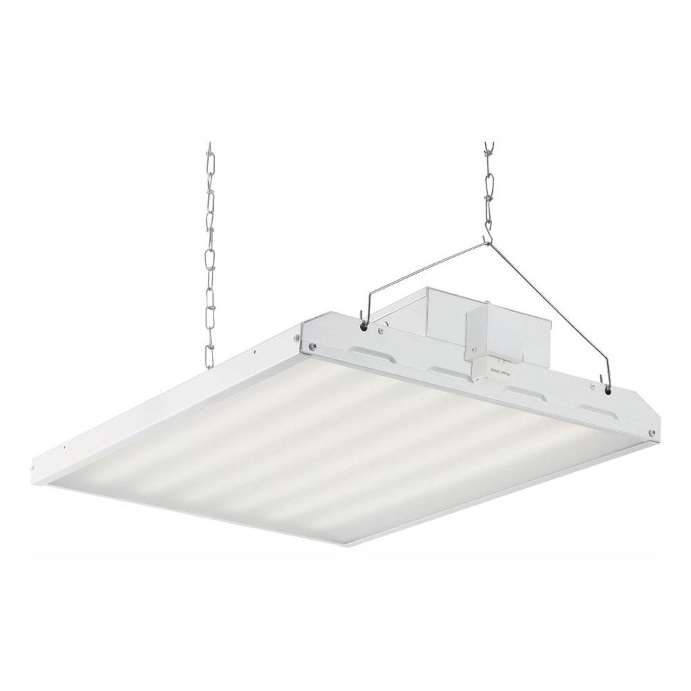 EnviroLite 135-Watt 2 ft. White Integrated LED High Bay Hanging Light with 17,420 Lumens 5000K and Microwave Occupancy Sensor was $248.0 now $140.84 (43.0% off)