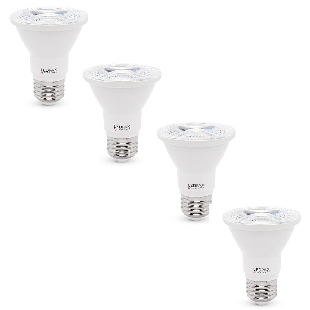 50-Watt Equivalent PAR20 Dimmable LED Light Bulb (4-Pack)