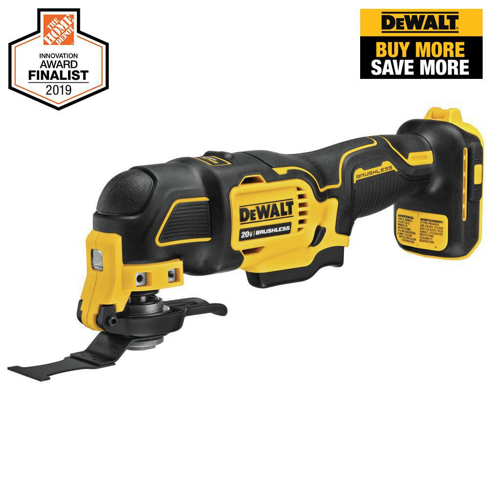 DEWALT ATOMIC 20-Volt MAX Lithium-Ion Brushless Cordless Oscillating Tool (Tool-Only)