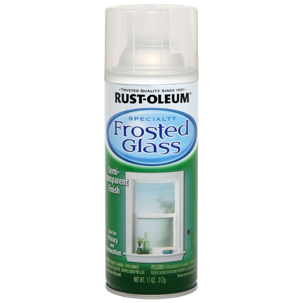 Rust Oleum Specialty 11 Oz Frosted Glass Spray Paint 1903830 The