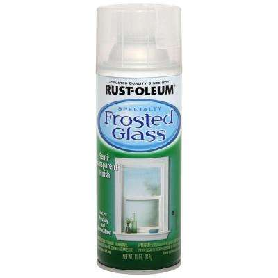 11 oz. Frosted Glass Spray Paint