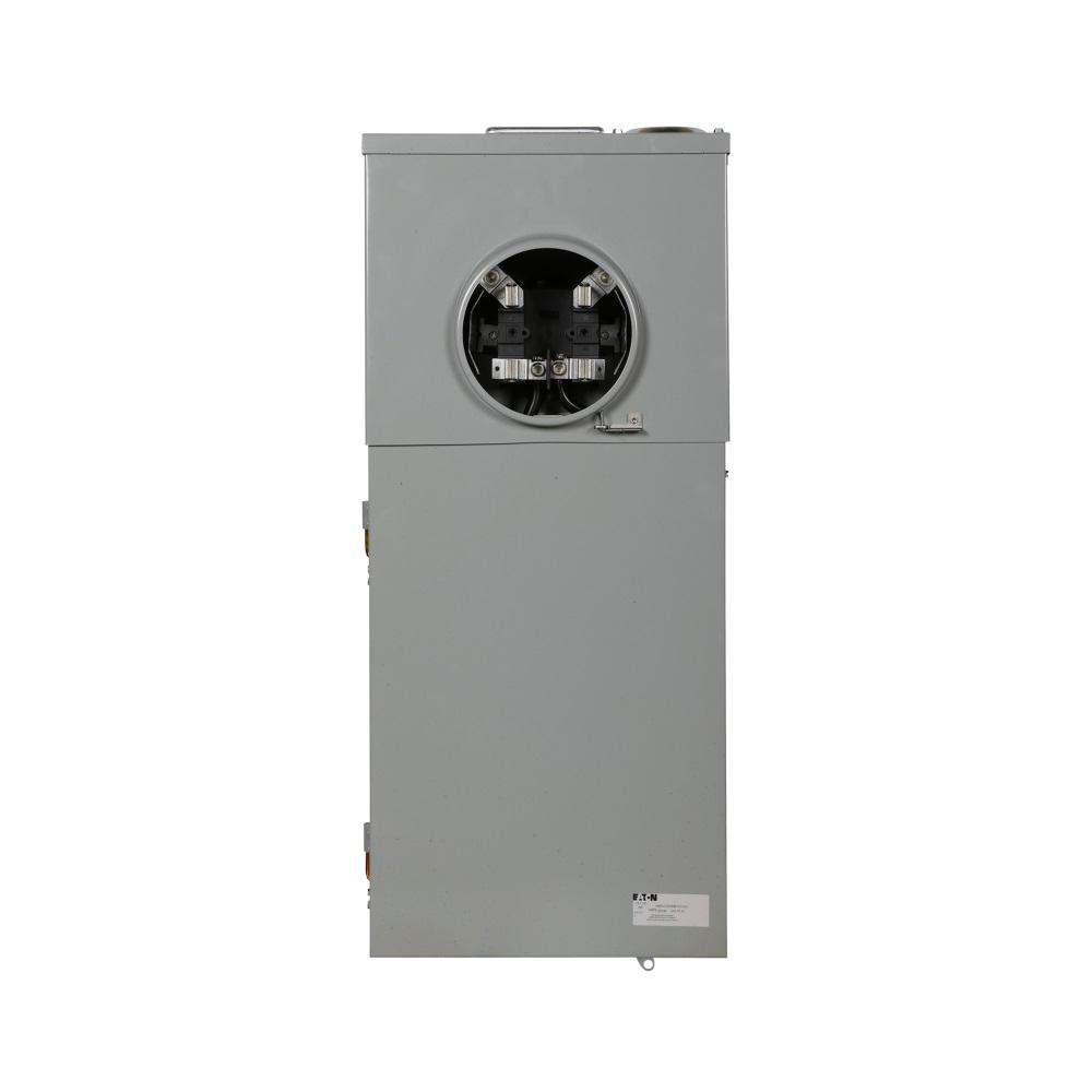 Eaton CH 200 Amp 12-Circuit Meter Breaker Outdoor Surface Mount
