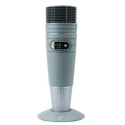 25 in. 1500-Watt Full-Circle Warmth Ceramic Tower Heater with Remote Control