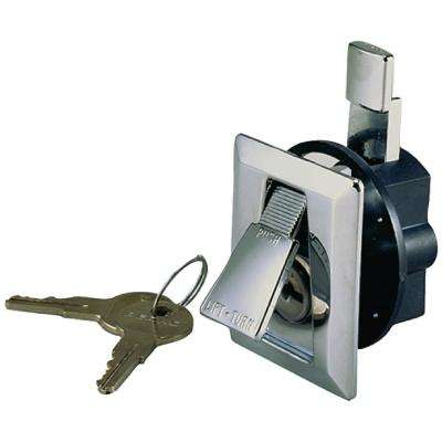 Chrome Plated Zinc Flush Lock