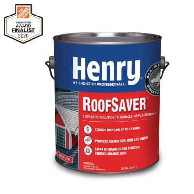 812 RoofSaver Clear Sealer Shingle Coating to Extend Shingle Life – 0.90 Gal