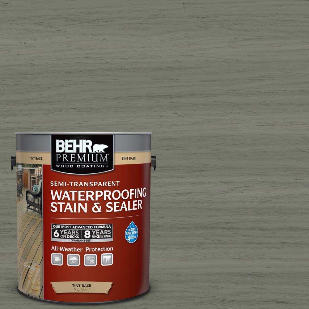 #ST-137 Drift Gray Semi-Transparent Weatherproofing Wood Stain