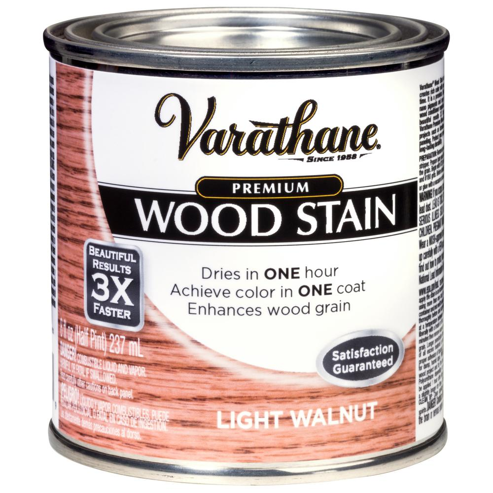Varathane 8 Oz Light Walnut Premium Fast Dry Interior