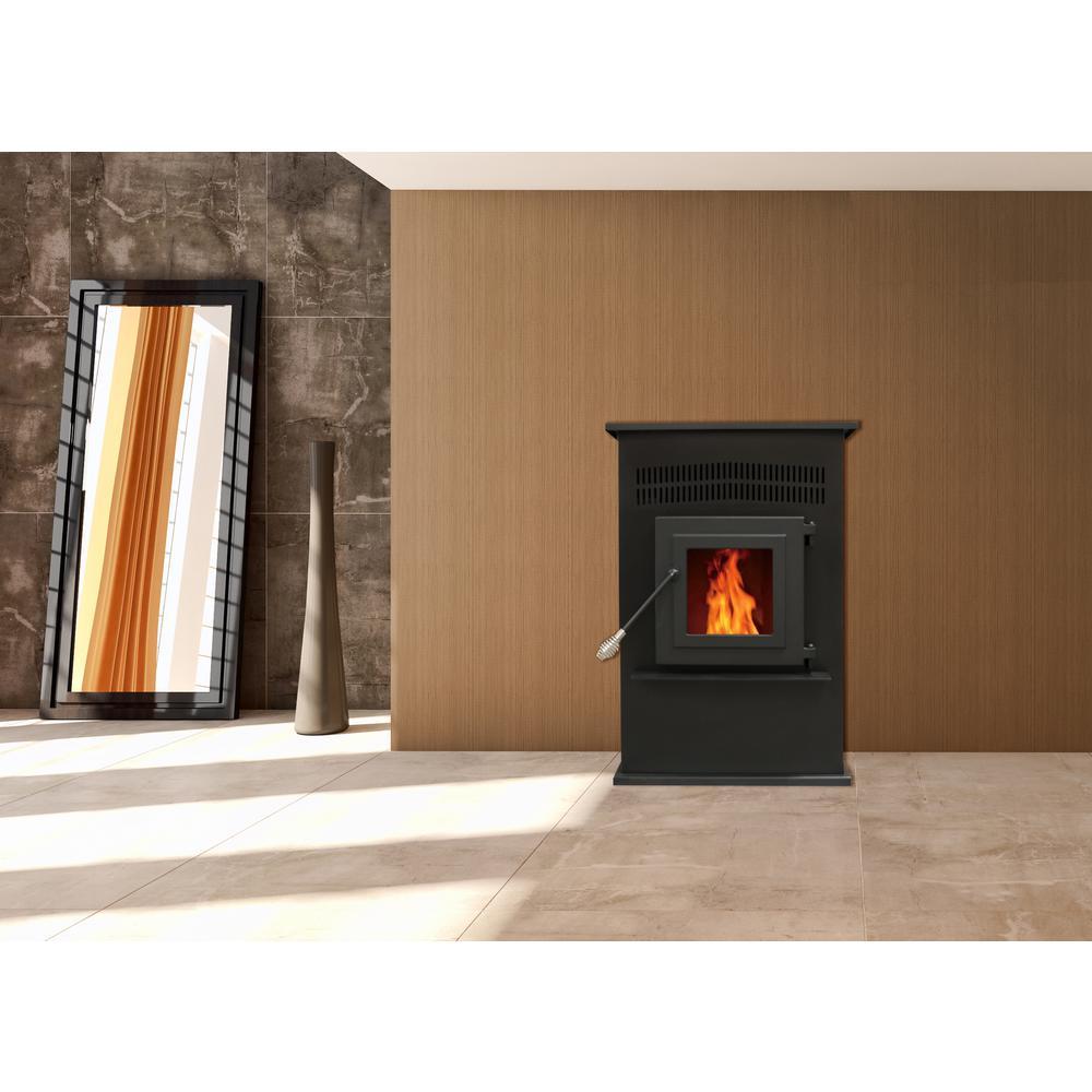 Englander 2 200 Sq Ft Pellet Stove 25, Englander Wood Pellet Fireplace Insert