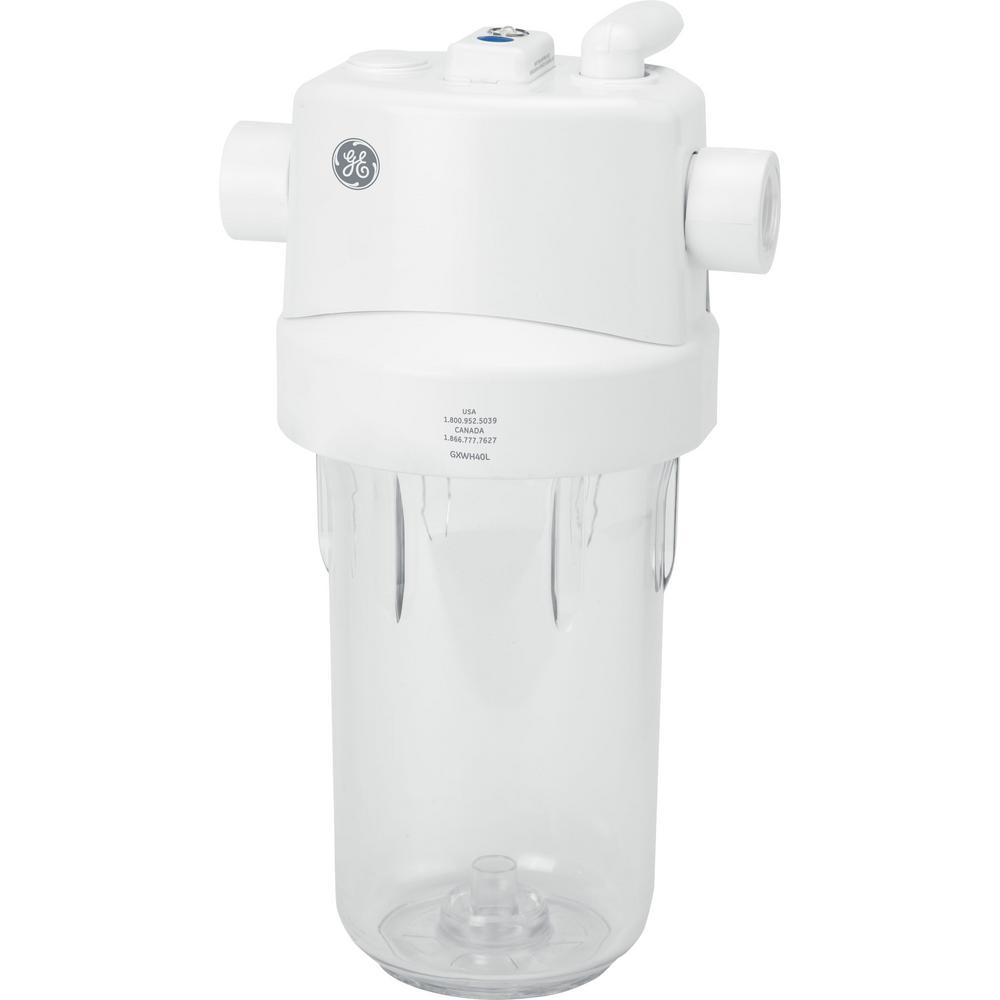 GE Whole House Water Filtration System and Filter