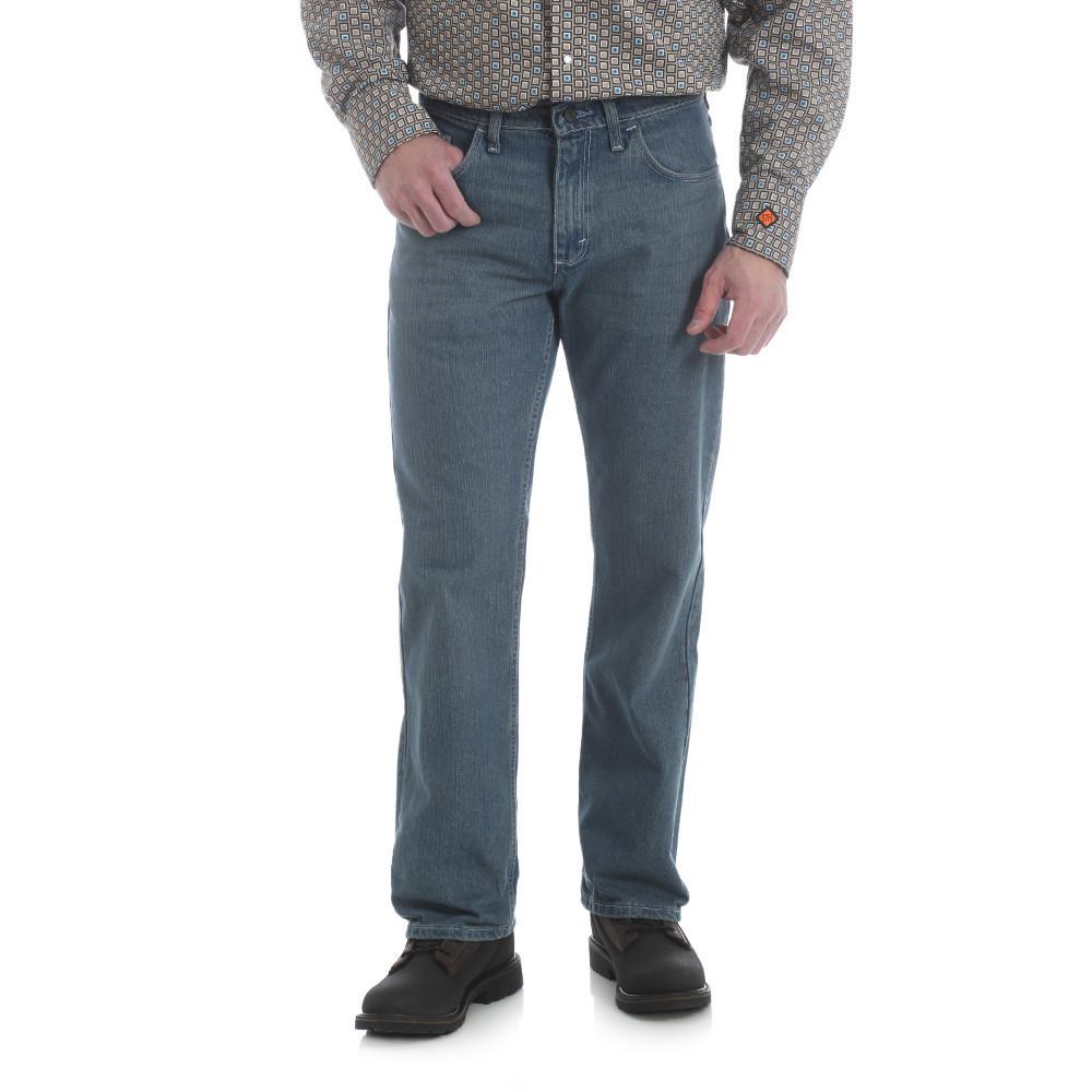 Men's Size 40 in. x 36 in. Vintage Bootcut Jean