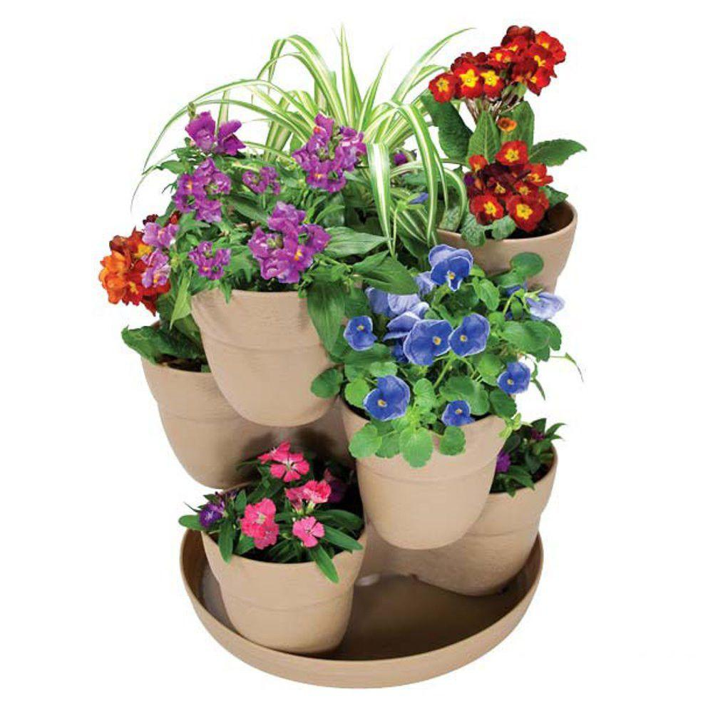 gardening planters vertical diy stackable project planter garden