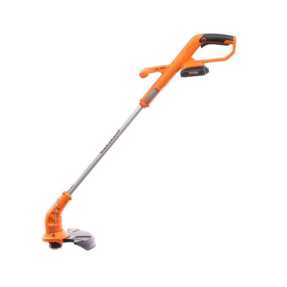 best 5. WORX 20V MAX Cordless Lithium 10-Inch String Trimmer/Edger
