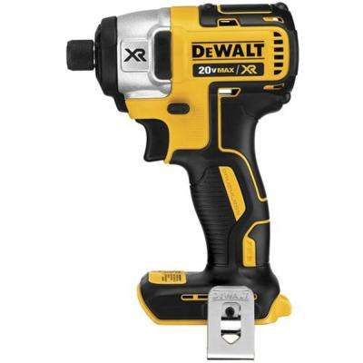 20-Volt MAX Lithium-Ion Brushless 1/4 in. Cordless Impact Driver (Tool-Only)