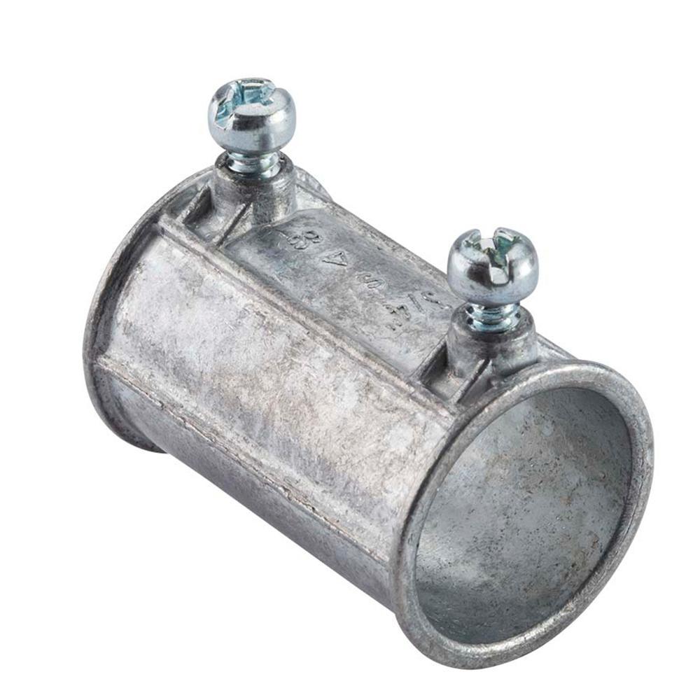 3/4 in. Electrical Metallic Tube (EMT) Set-Screw Coupling (5-Pack)