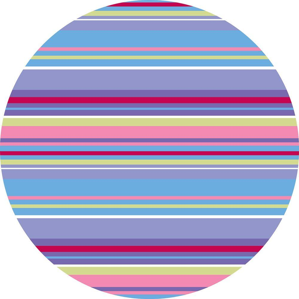 WallPOPs 13 in. x 13 in. Ribbon Candy Purple Dot 10-Piece Wall Decal