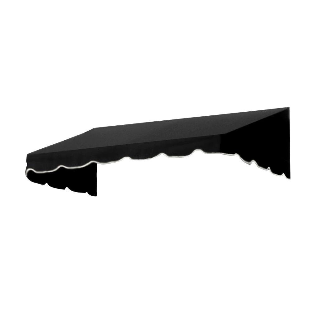 AWNTECH 16 ft. San Francisco Window/Entry Awning (16 in. H x 30 in. D) in Black
