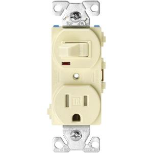 almond eaton outlets receptacles tr274a 64_300 eaton 15 amp tamper resistant combination single pole toggle  at fashall.co