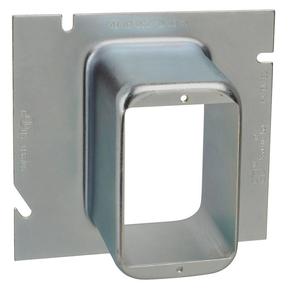 2 in. 5-Square Single Gang Ring (10 per Case)