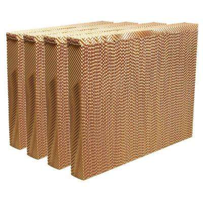 MAX COOL 31-1/2 in. W x 25 in. H x 3-1/2 in. D Replacement Evaporative Cooler Rigid Media