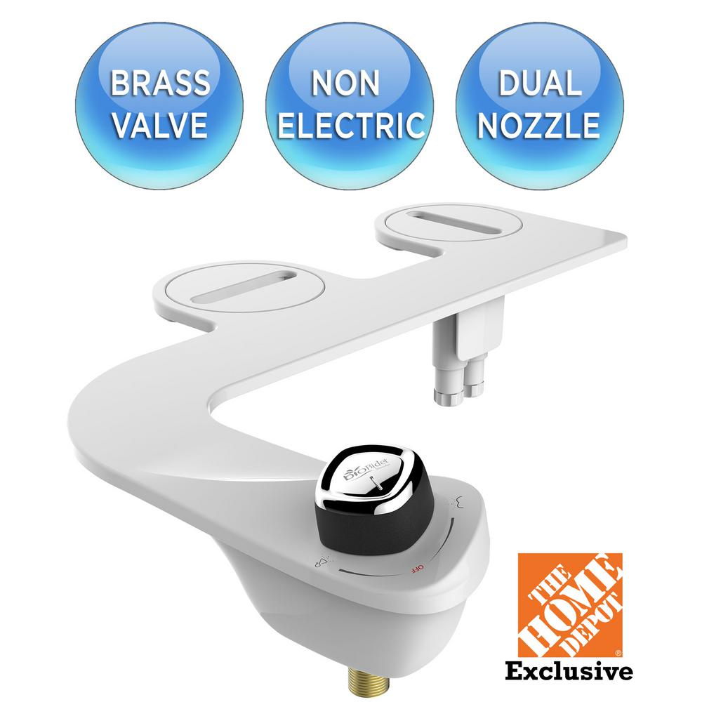 Biobidet Slim Edge Non Electric Bidet Attachment System In White 29 Homedepot Com Online Hot Deals Gottadeal Forums