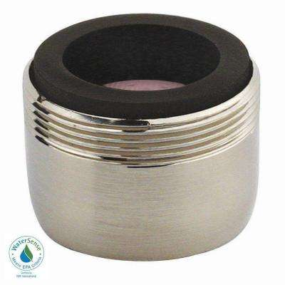 1.2 GPM Dual-Thread PCA Water-Saving Faucet Aerator in Brushed Nickel
