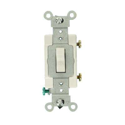 ProGrade 15 Amp Lighted Specialty Switch, White
