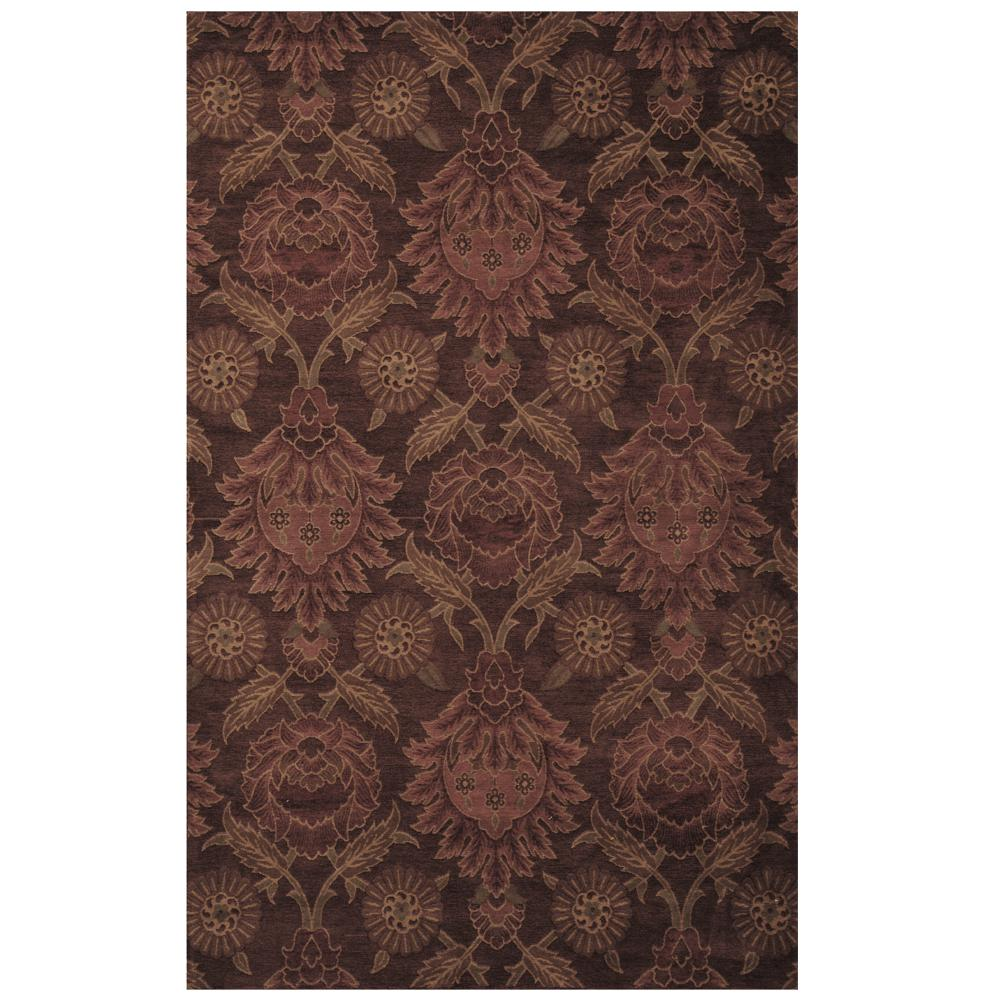 Lanart Jewel Ruby 5 ft. x 8 ft. Area Rug