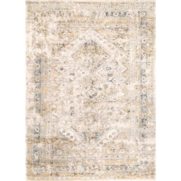 Reviews For Nuloom Vintage Speckled Shaunte Gold 9 Ft X 12 Ft Area Rug Cfdr05b 9012 The Home Depot
